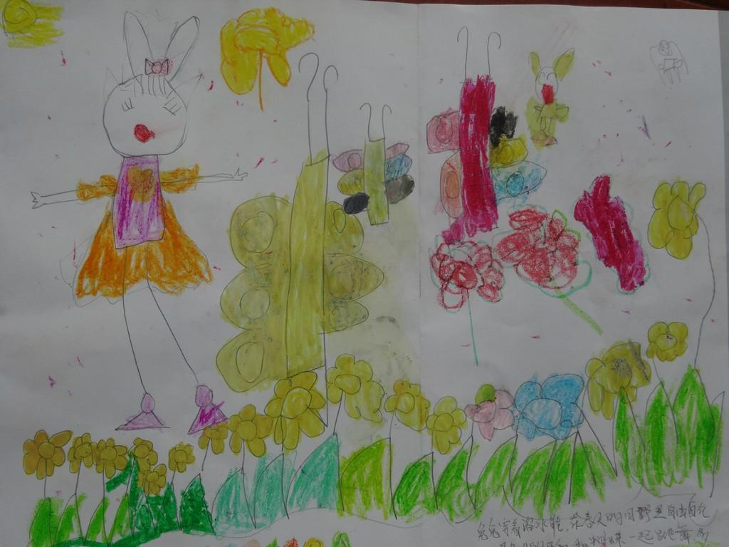 英贝尔幼儿园幼儿作品