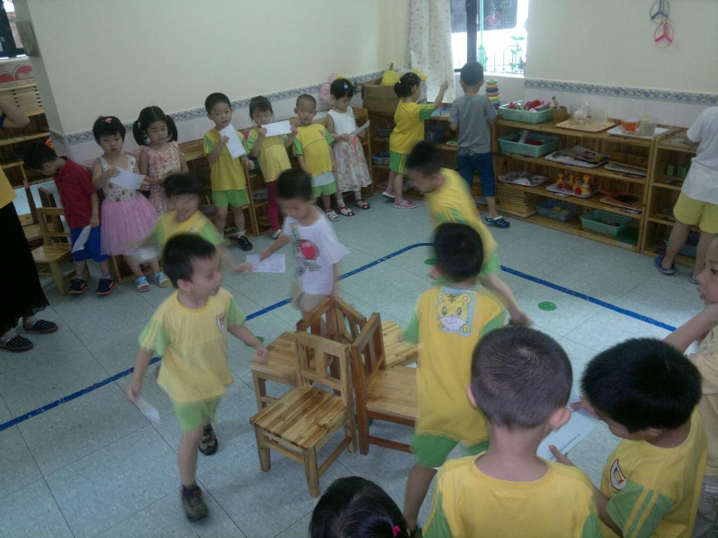 童蕊蒙特梭利幼儿园欢乐时光